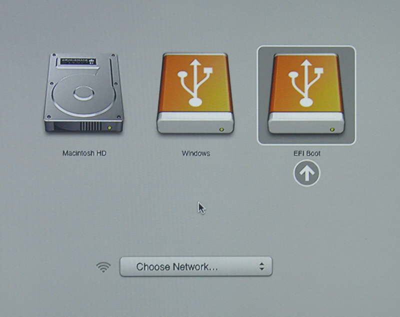 choosing images on macbook