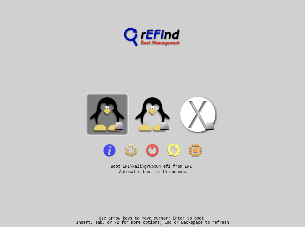 refind boot manager
